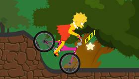 Juego de el viaje en bici de lisa simpson gratis juegos - Jeux de lisa simpson ...