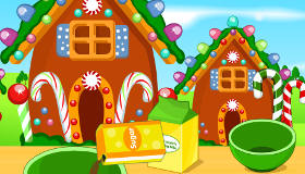 Juego de galletas de jengibre gratis juegos xa chicas for Cocina con sara casita de jengibre